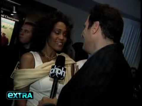 Whitney Houston - Boxing Event Interview (April 19, 2008)