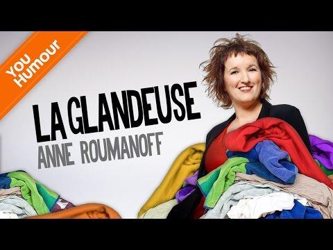 ANNE ROUMANOFF - La vendeuse glandeuse