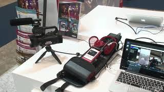 【Inter BEE 2018 TV】ソリトンシステムズ ライブ映像中継システム「Smart-telecaster Zao-S」を出展
