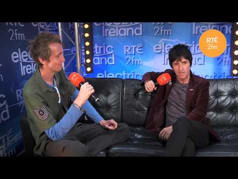 Dan Chats to Johnny Marr - Electric Picnic
