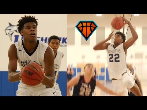 Vernon Carey Jr. Puts On A DUNK SHOW While Leading University School To Season Opening Win!!