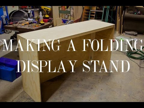 Making a Folding Display Stand
