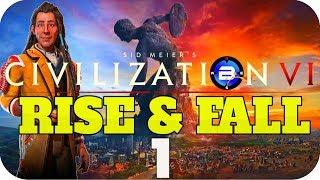Video Civilization 6 RISE & FALL ▶POUNDMAKER of CREE◀ - EP1 Civ VI Rise and Fall New DLC download MP3, 3GP, MP4, WEBM, AVI, FLV Maret 2018