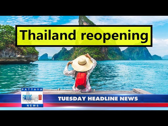 Latest Thailand News, from Fabulous 103 in Pattaya (12 October 2021)