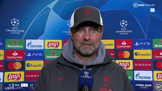 """To reach the semi-final you have to earn it"" Jurgen Klopp reacts to Real Madrid 3-1 Liverpool"