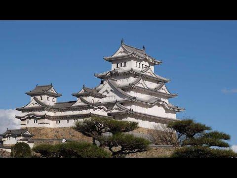 世界文化遺產 姬路城 / Himeji Castle【4K】