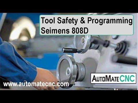 CNC Turning - Basic Tool Setup and Programming - Webinar for the Siemens 808D