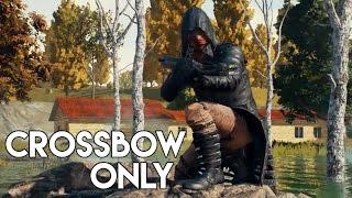 » CROSSBOW ONLY! « - Bewaffnet mit der Armbrust, die Challenge in PUBG