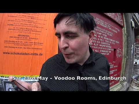 Eddie Argos Spoken Word Tour 2015