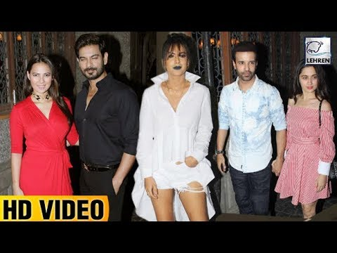 Celebs At TV Producer Siddharth Malhotras Party | Nia Sharma | Rochelle Rao