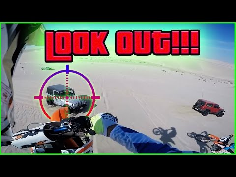 Thumbnail: INCHES FROM DEATH... The LUCKIEST Dirtbiker in the WORLD!!!