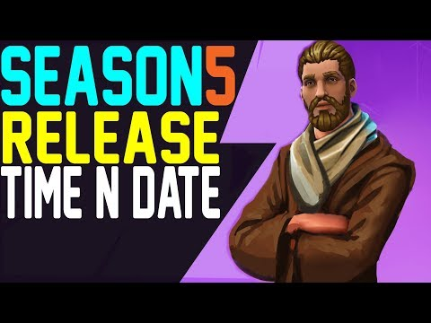 Fortnite SEASON 5 RELEASE DATE AND TIME - When Will Season 5 Release