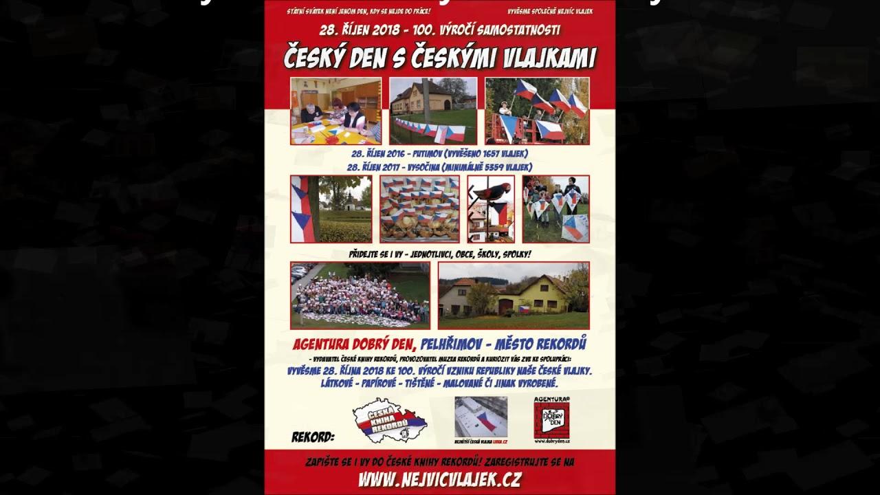 Video Největší vlajka České republiky