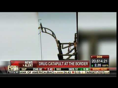 Drug Catapult Found at Mexican Border with Arizona