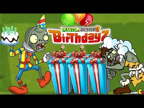 Plants vs Zombies 2 - Happy 6th Birthday Pinata Party ...