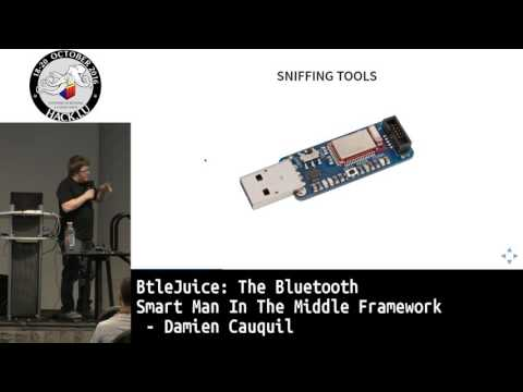 Hack.lu 2016 BtleJuice: the Bluetooth Smart Man In The Middl