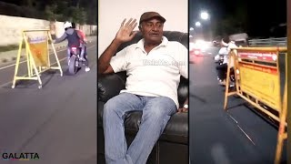 Pasanga romba mosam pa 😡 - MS Bhaskar | Bike Racing | Rash Driving