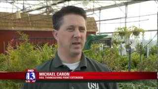 Utah State University Extension Gardening Tips [FOX 13 Utah, 02/18/2014]