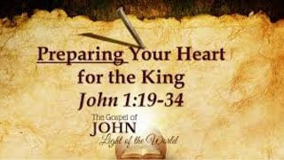 Sabbath Day Gathering: How we prepare our Heart to meet the King (8/18/18)