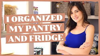 PANTRY AND FRIDGE TOUR (Let's Organize!) | Bea Alonzo