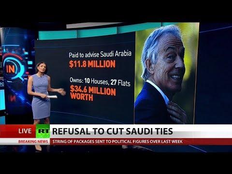 Galloway Blasts Tony Blair for Taking Saudi Money