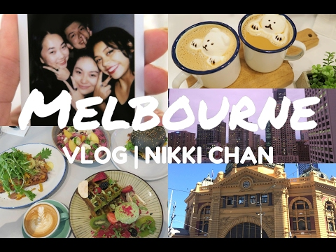 Melbourne Vlog - Places to go! | Nikki Chan