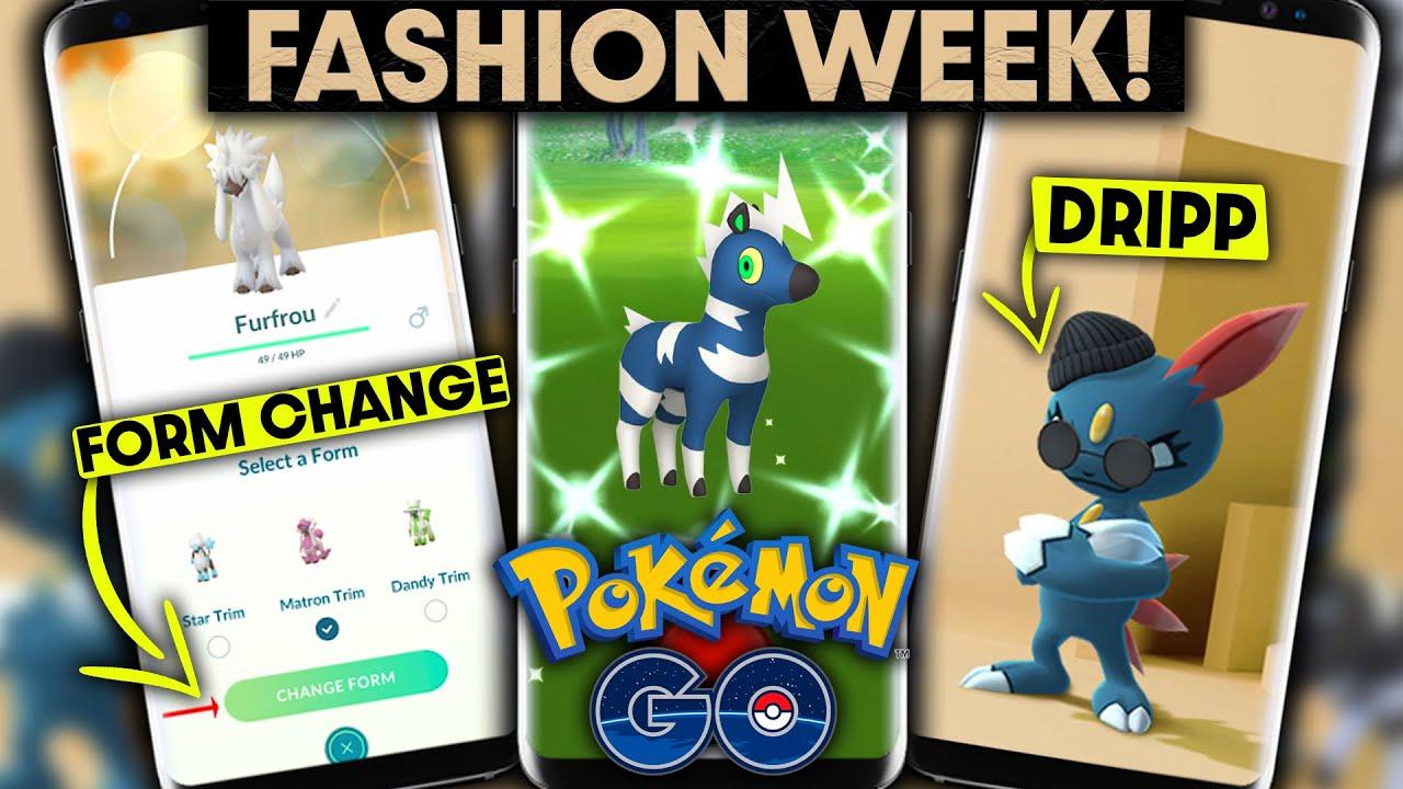Pokémon GO: Fashion Week 2021- all info about bonuses & activation