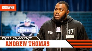Andrew Thomas: I think I'm all around the best | 2020 NFL Combine