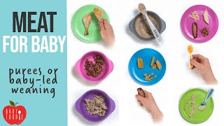 Meat for Babies: 6 Siṁple Ways