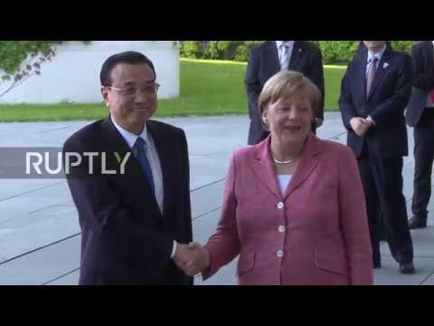 Germany: Li Keqiang's European tour begins with Merkel meeting in Berlin