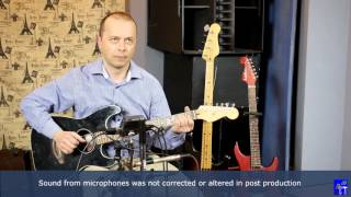 Superlux S241 vs. Shure SM81 vs. ZOOM H6 comparative microphone test