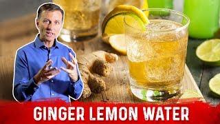 use ginger lemon water to do intermittent fasting longer