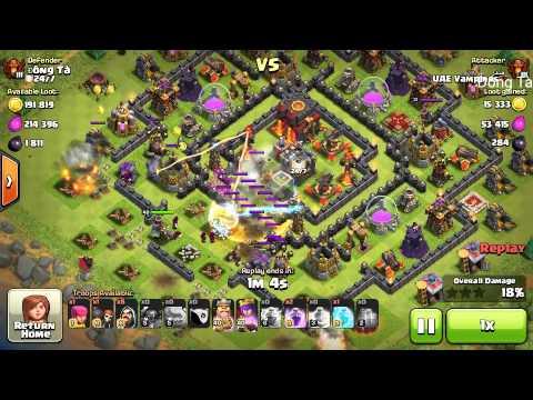 Clash of Clans - Defense (arab) 7/09/2015
