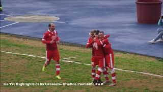 Eccellenza Girone A Grosseto-Atletico Piombino 3-0 GS TV