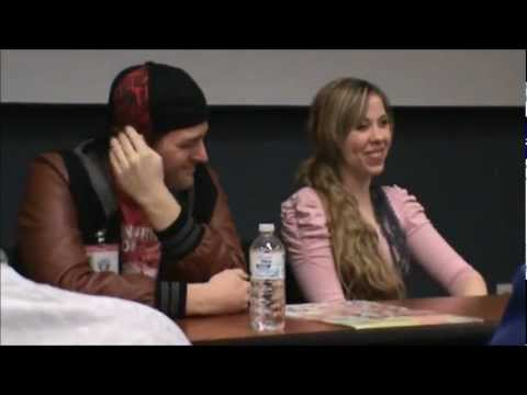 Ushicon 2013 Voice Actor Q & A with Robert Axelrod, Alexis Tipton and Josh Grelle