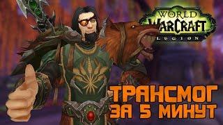 Трансмогрификация за 5 минут, World of Warcraft