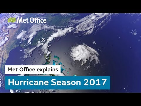 A look back at 2017's record breaking hurricane season