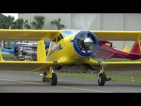 Staggerwing & Radial Reunion departures from KCRG on 4/22/17