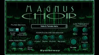 Guardians Of Limbo: Syntheway Magnus Choir VSTi Plugin Software Fx
