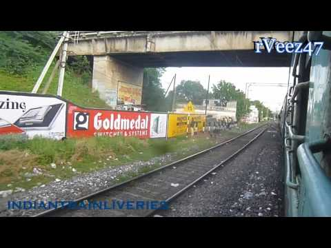Vijaywada Jn 12 Min View Towards Nagpur | Navjeevan Express | rVeez47