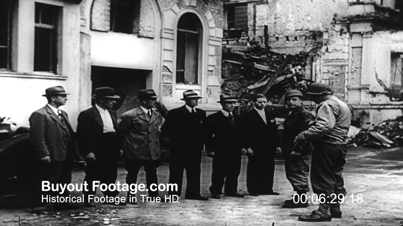 Hd stock footage wwii post war cologne after german defeat for Koln ww2
