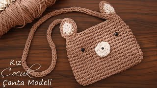 Örgü Çocuk Çanta Yapımı / DIY Bag Tutorial