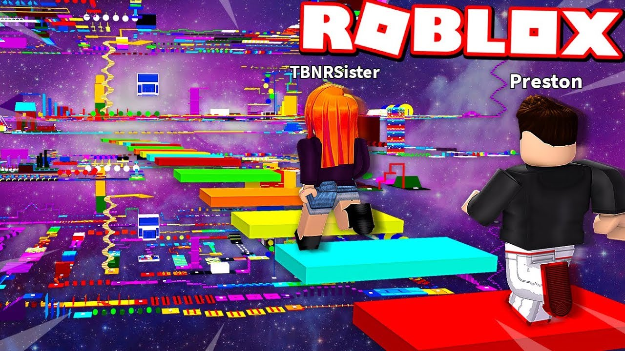 Little Sister Cheats In Roblox Impossible Rainbow Speed Obby