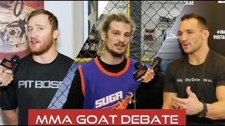 UFC Fighters Reveal Their MMA GOAT