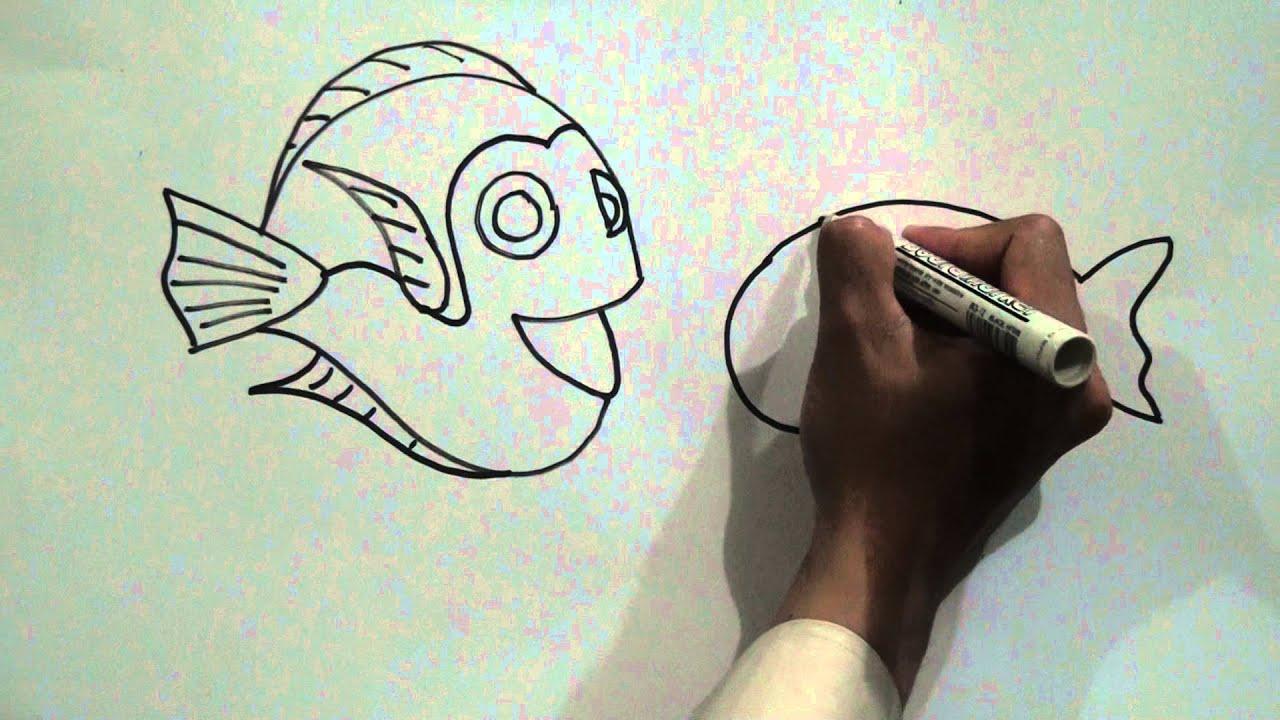 Video Tutorial Cara Belajar Menggambar Ikan Bawah Laut YouTube
