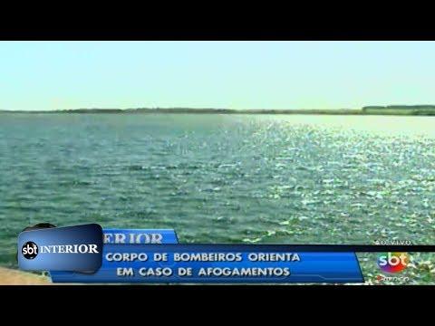 Tragédia: três pessoas morrem afogadas no rio Tietê, em Araçatuba