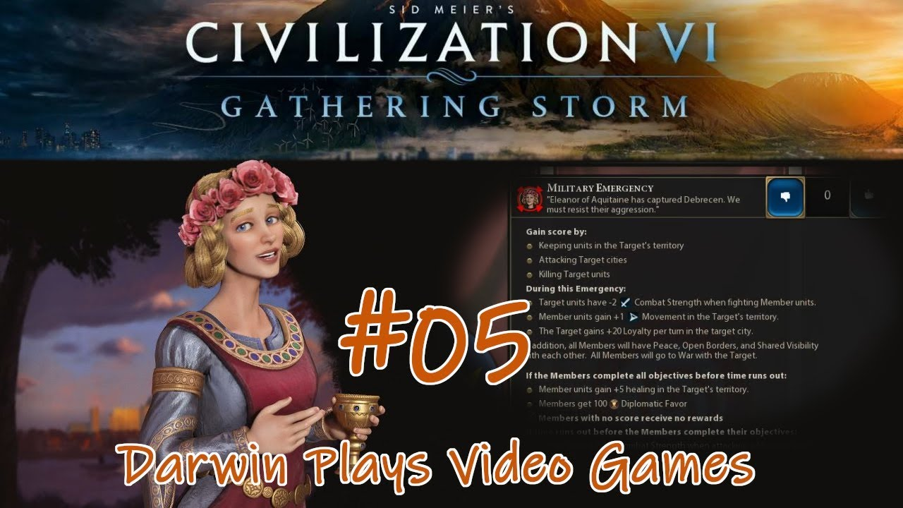 World Congress Emergency | EP05 | Let's Play Civilization 6 Gathering Storm