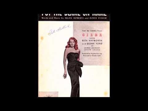 Leny Eversong - PUT THE BLAME ON MAME - Allan Roberts - Doris Fisher - Continental 15.702-B -  1946