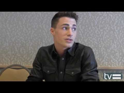 Colton Haynes Interview - Arrow Season 3