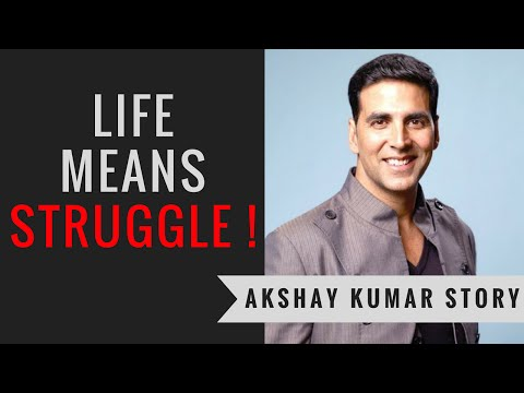 Akshay Kumar Biography | Life Means Struggle